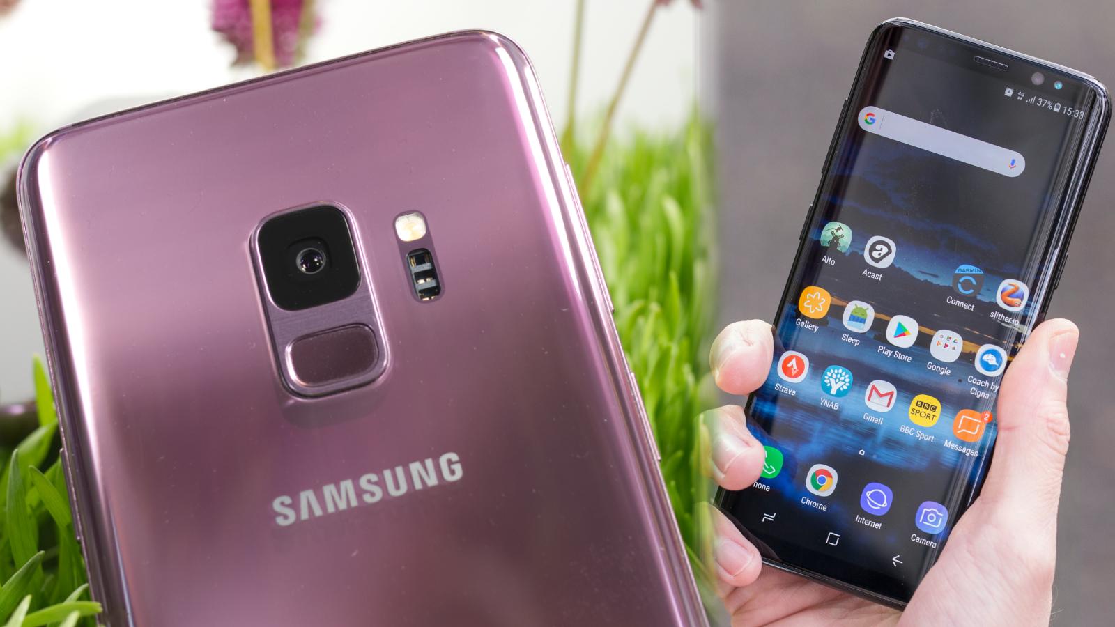 Samsung Galaxy S9 vs Samsung Galaxy S8