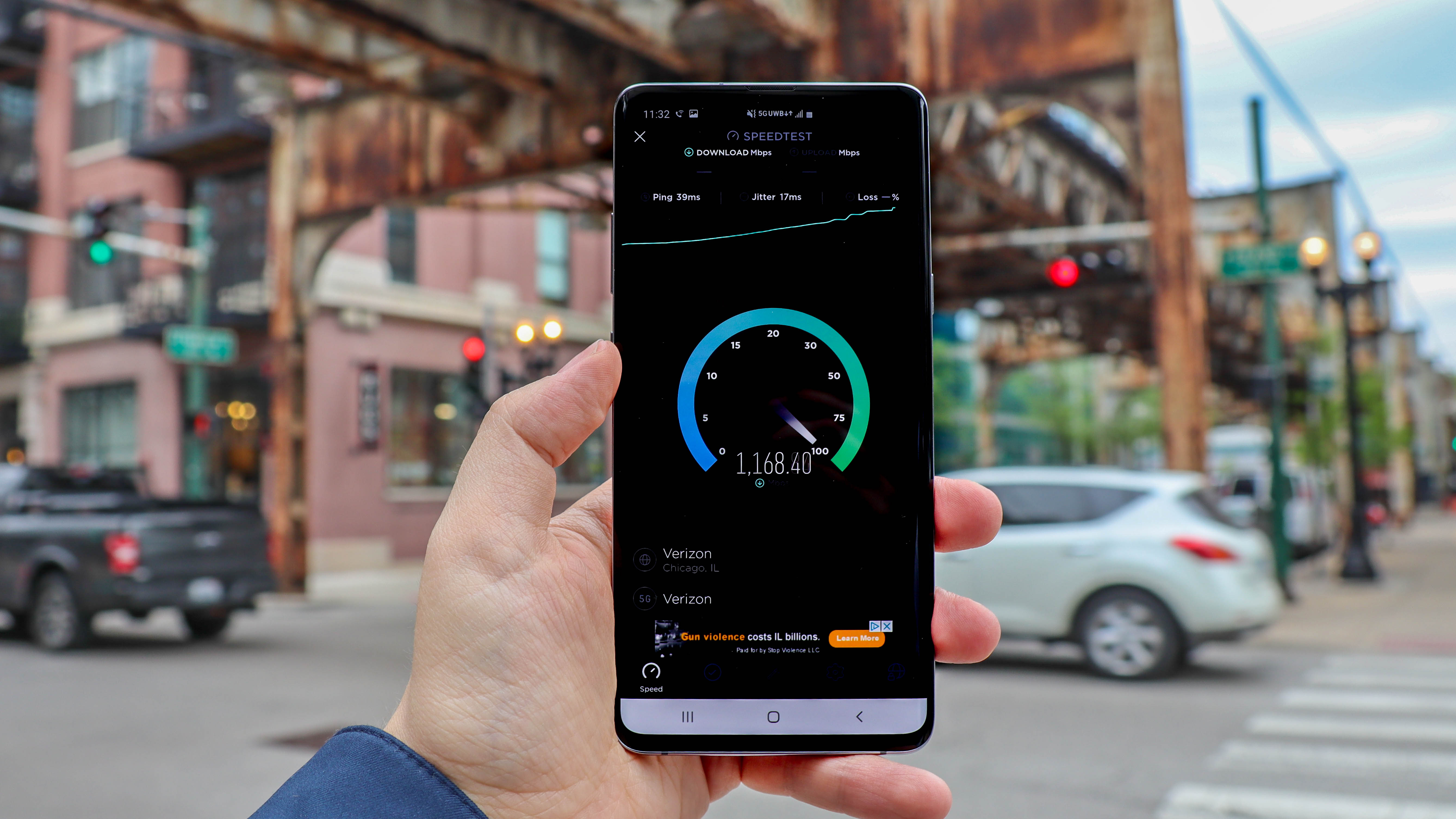 5G speed test: 1.4Gbps in Chicago, but only if you do 'the 5G shuffle'