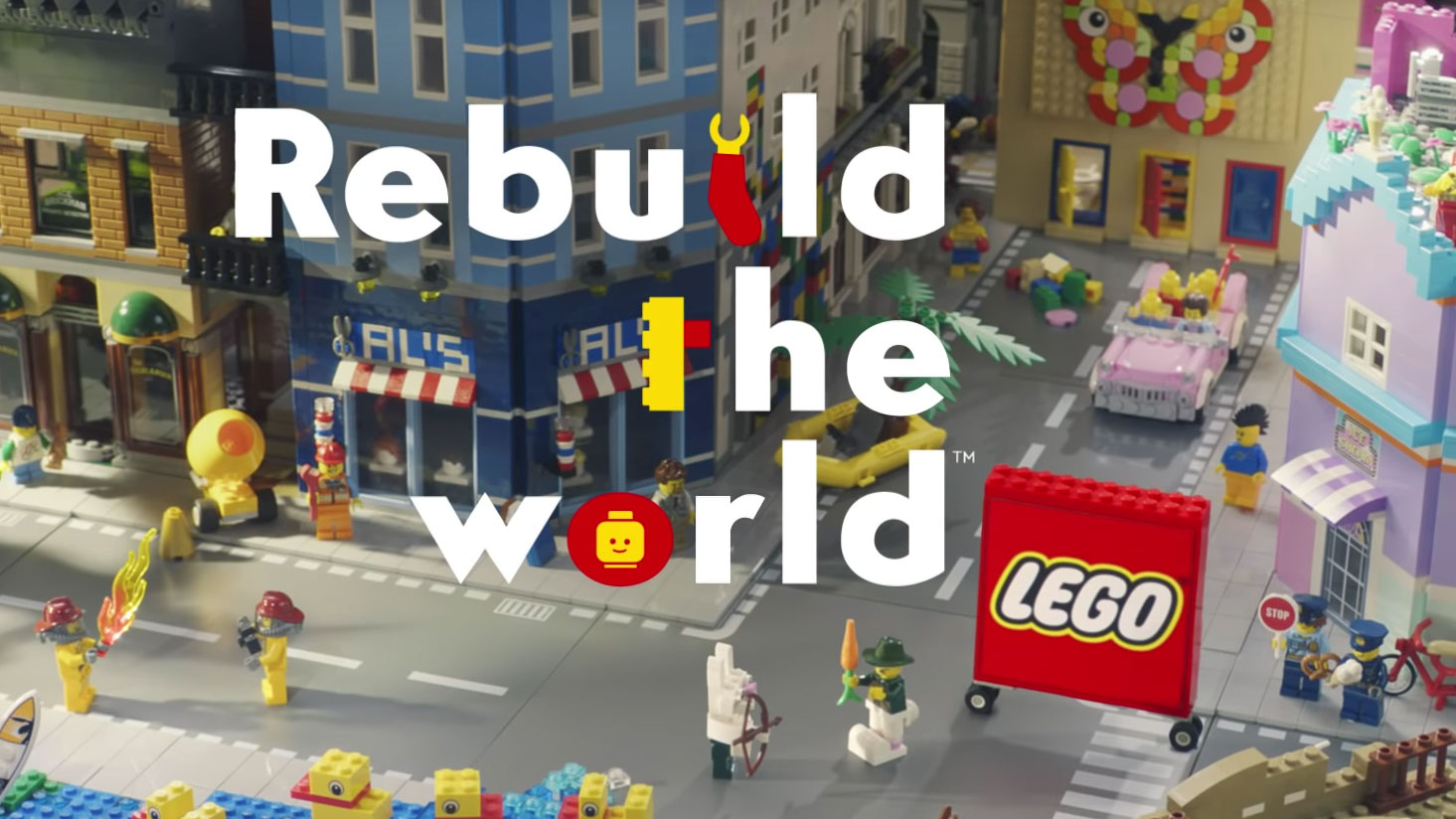 Lego's stunning new ads are a creative force for good