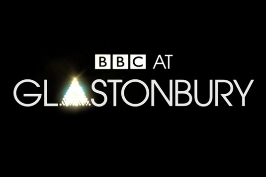 BBC at Glastonbury identity