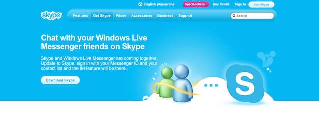Windows Messenger to Skype transition beginning in April ...