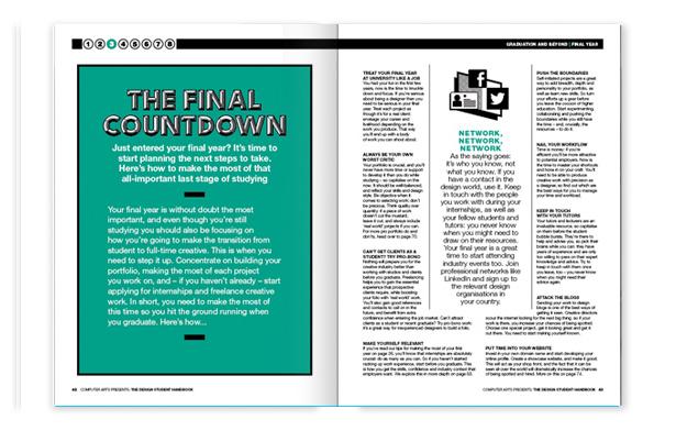 Computer Arts Presents: The Design Student Handbook, chapter three