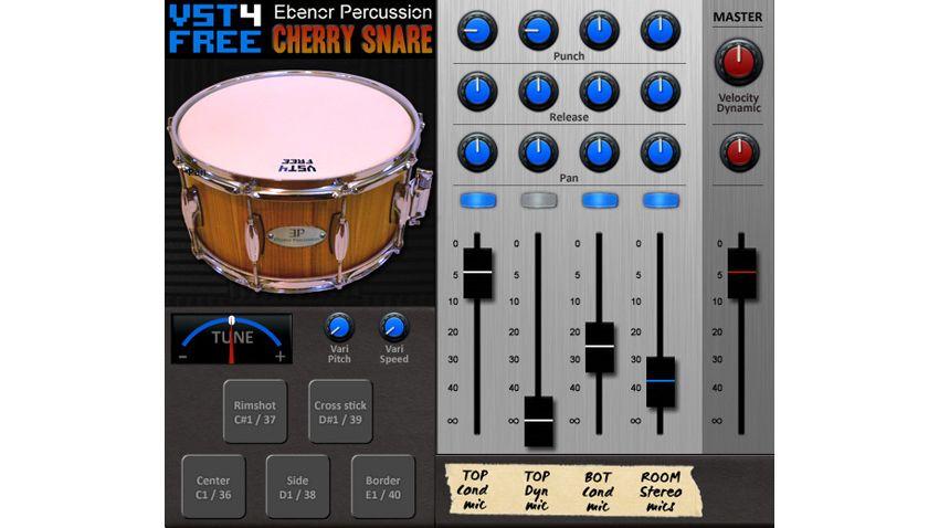 free vst au snare plugin samples cherry wood drum musicradar. Black Bedroom Furniture Sets. Home Design Ideas