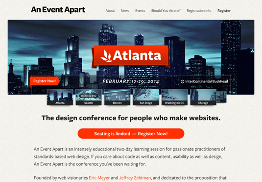 design events for 2014