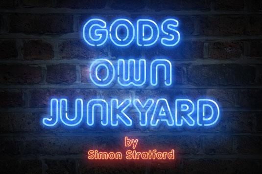 Gods own Junkyard typeface