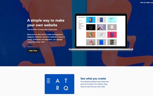 Design portfolio: Berta