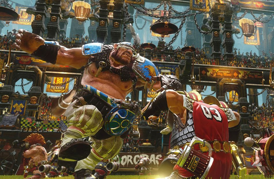 Blood Bowl 2 Trailer Shows Chaotic Fouling