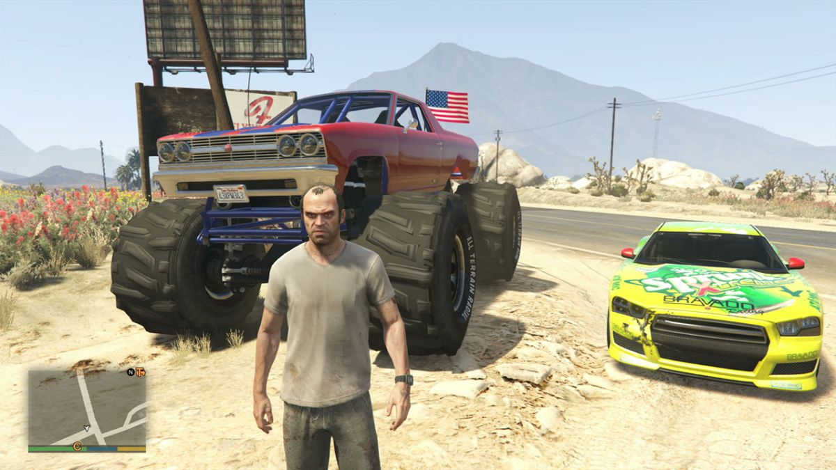 GTA 5  Liberator Monster Truck Location in Single Player