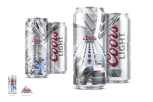 Brand Impact Awards - Coors Light, by Turner Duckworth