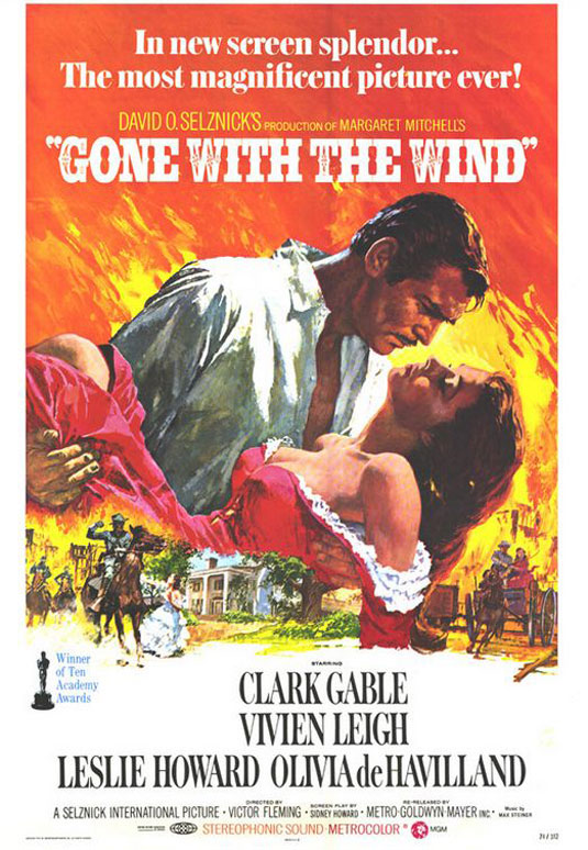 Movie posters: Gone with the Wind