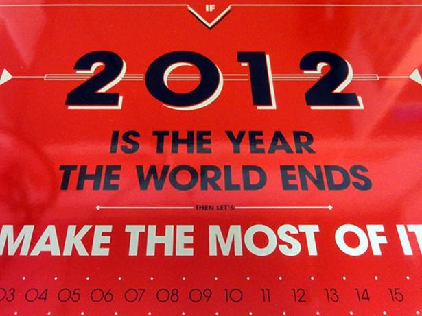 TwelveTimesTwo - Doomsday Calendar
