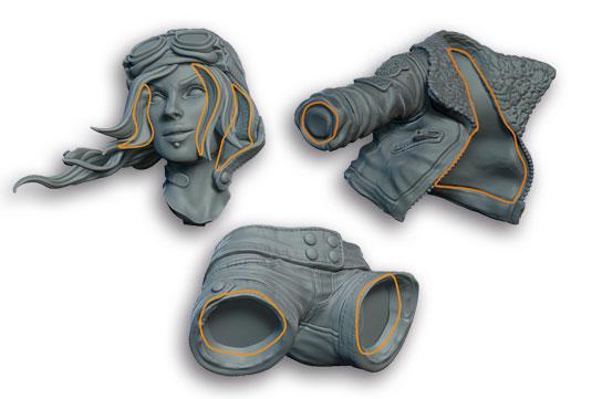 Sculpting tips - Keep it watertight