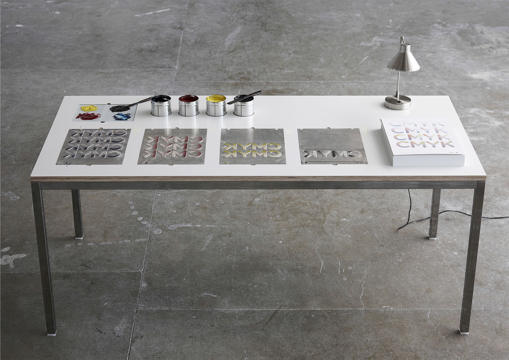 Agency 39 s printing table gives new meaning to 39 desktop for Table design meaning