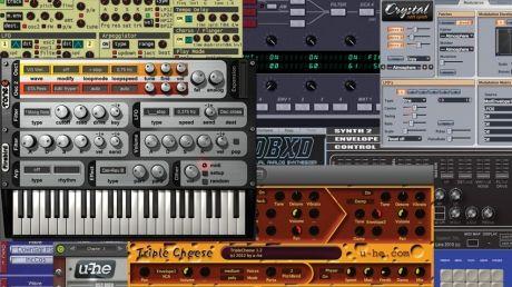 12 of the best free vst au plugin synths musicradar. Black Bedroom Furniture Sets. Home Design Ideas