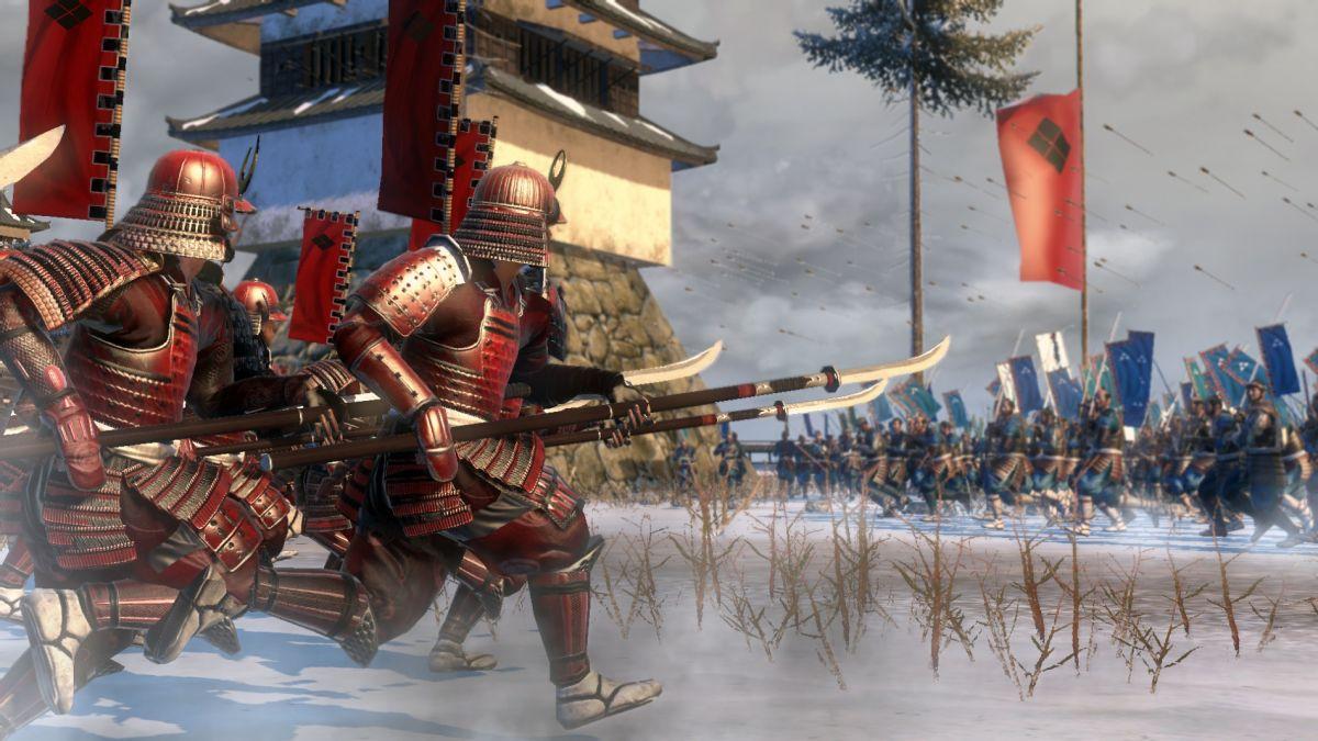 Hands On Shogun 2 S Siege Battles Pc Gamer