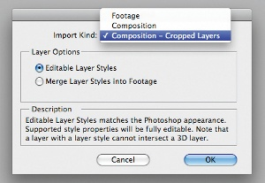 Import PSDs as compositions