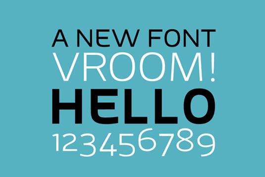 Adonide font