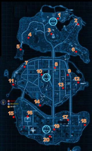Lego Batman 2 Red Brick Locations Gamesradar
