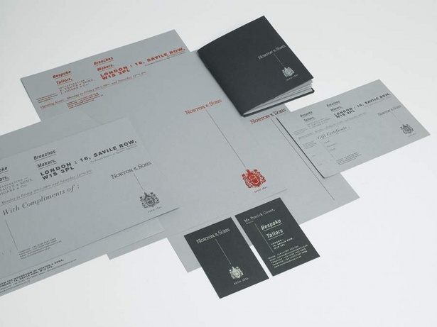 Norton & Sons branding by Moving Brands