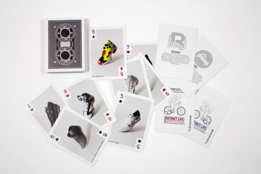reebok playing cards