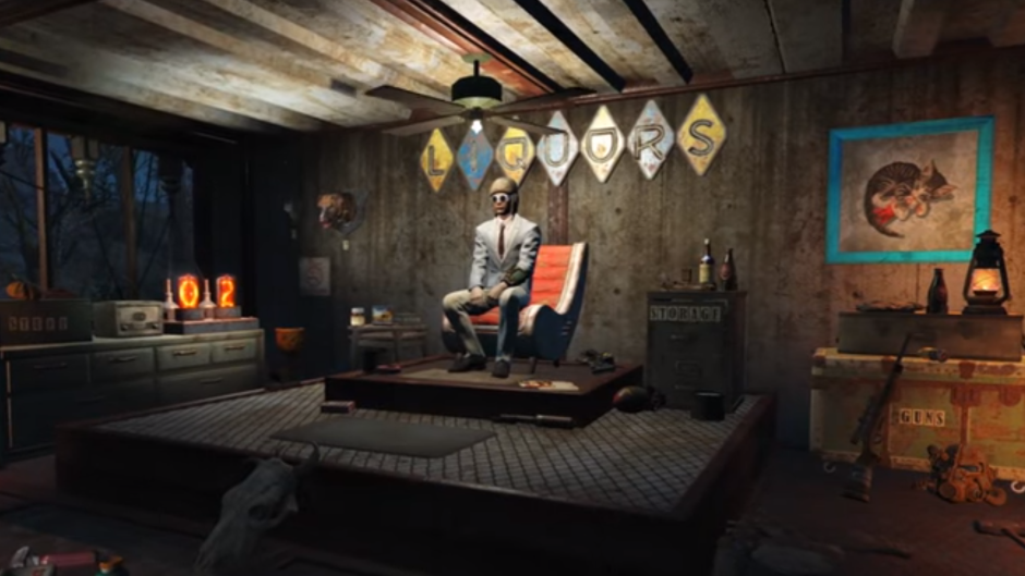 Unleash your interior decorator and monsters with for Fallout 4 interior decorating