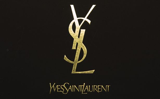whats so special about the yves saint laurent logo