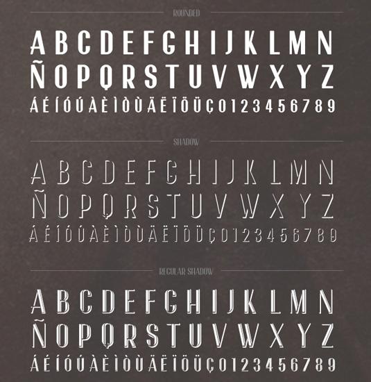 Free font: Garnata