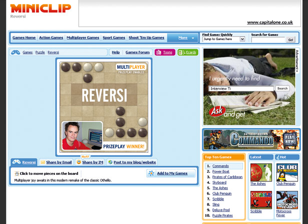 Miniclip game