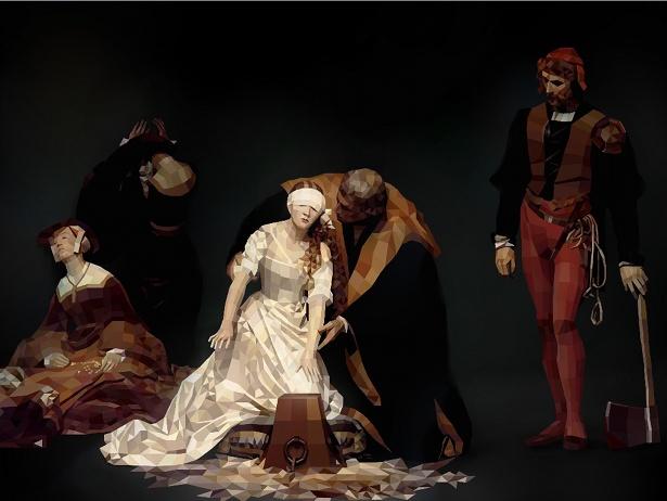 Paul Vera-Broadbent - Delaroche: The Execution of Lady Jane Grey