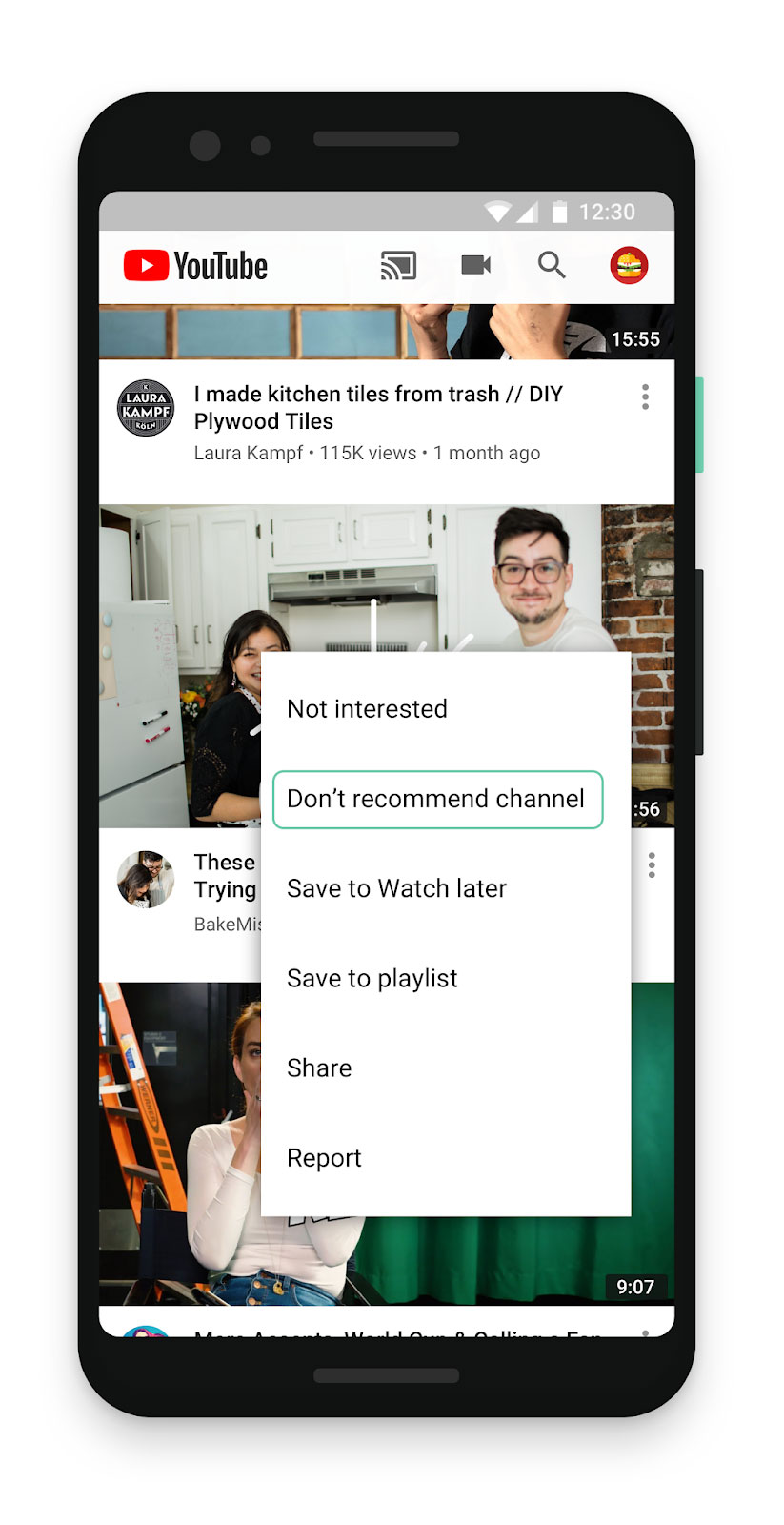 4bfdc96849a Additionally, YouTube will now be more transparent about why certain videos  and channels have been brought to your attention, offering extra  information ...