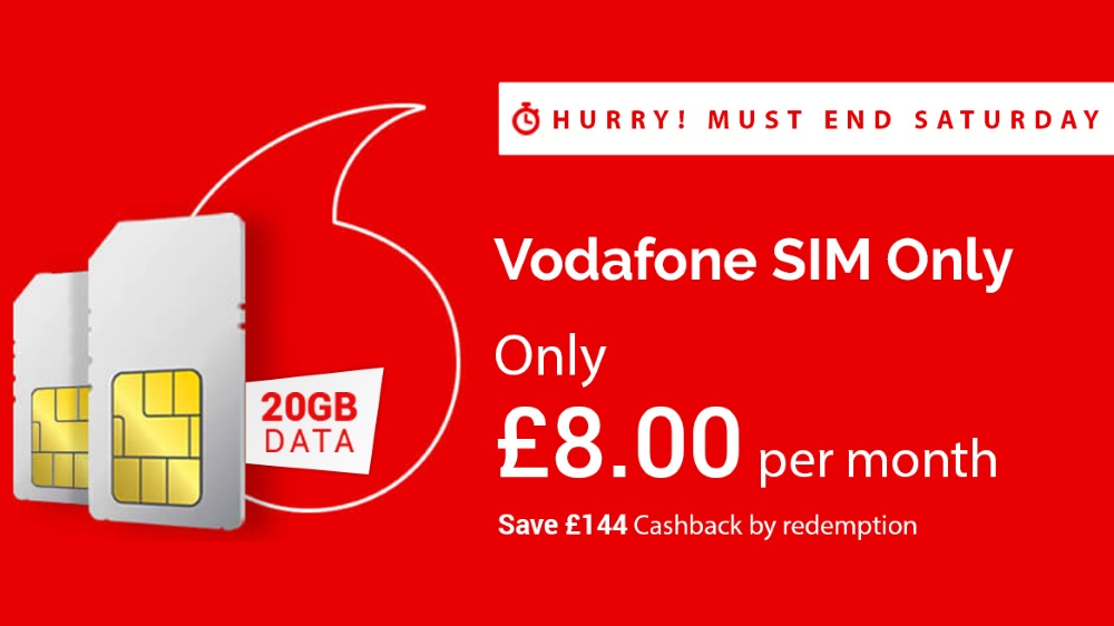 See how to get a 20GB SIM only deal for an incredible £8 per month