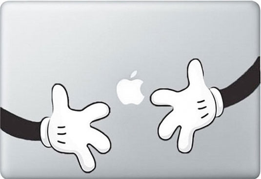 Mac decals - Mickey