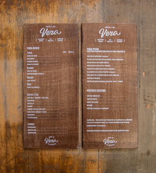 Menu Design Ideas restaurant menu design Wed Love To Get Our Hands On This Thick Beautiful Wooden Vera Menu