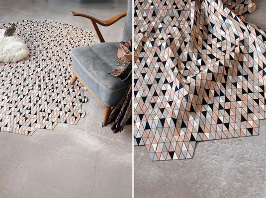 wooden rugs