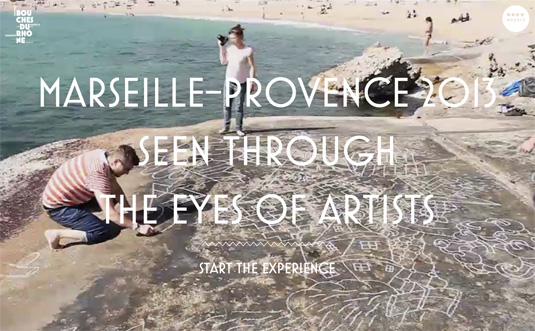 Website video background: My Provence festival