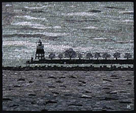 Mosaic art - Lynne Adamo