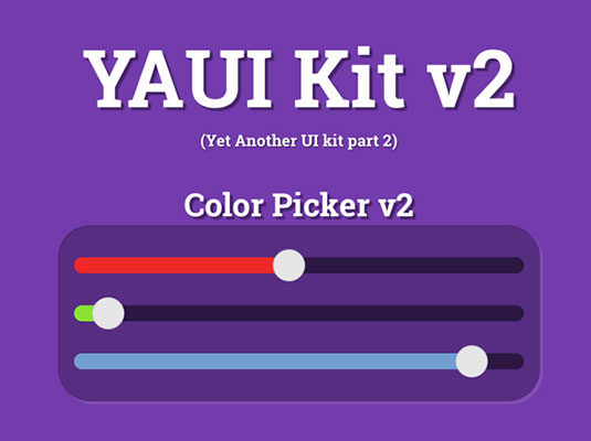 Best free UI kits: YAUI Kit V2