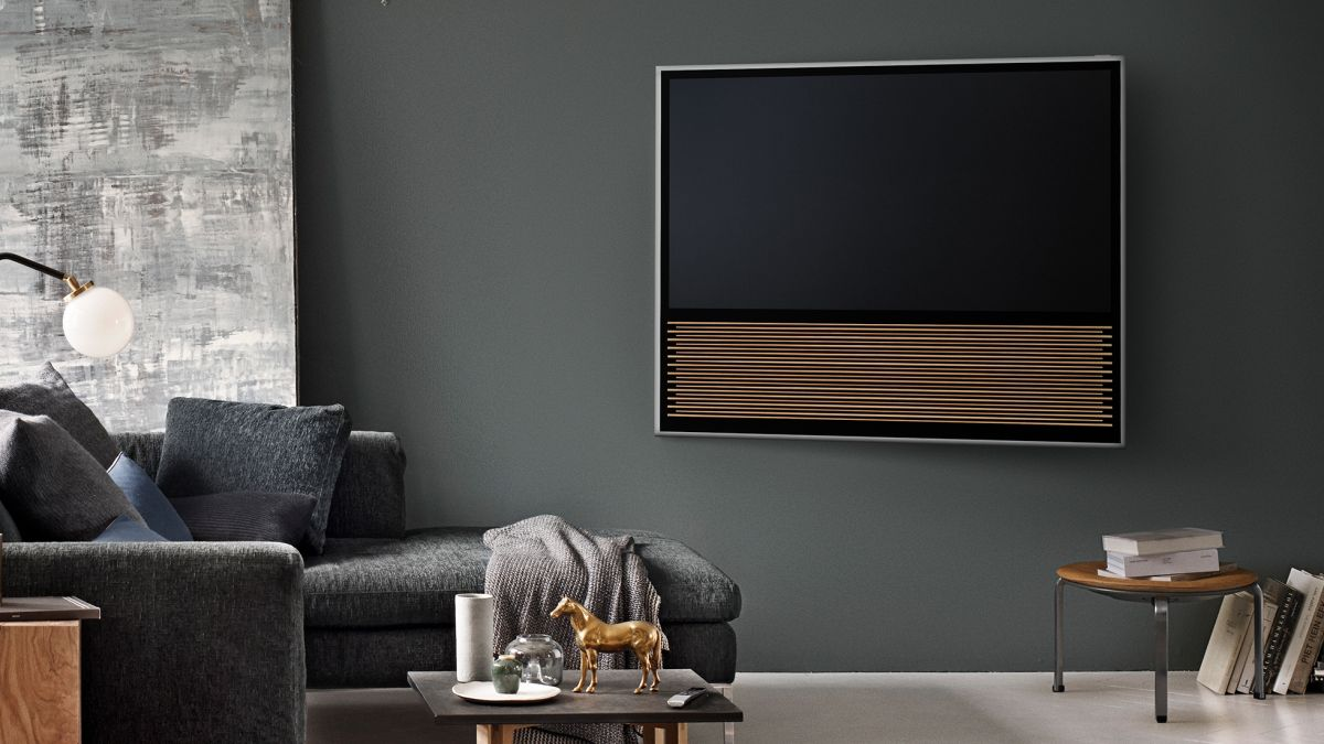 listen up bang olufsen 39 s latest 4k tv will sense your. Black Bedroom Furniture Sets. Home Design Ideas