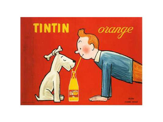 Vintage posters - Tintin