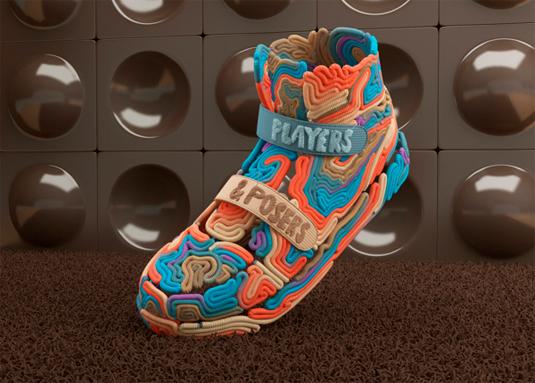 yarn sneaker designs