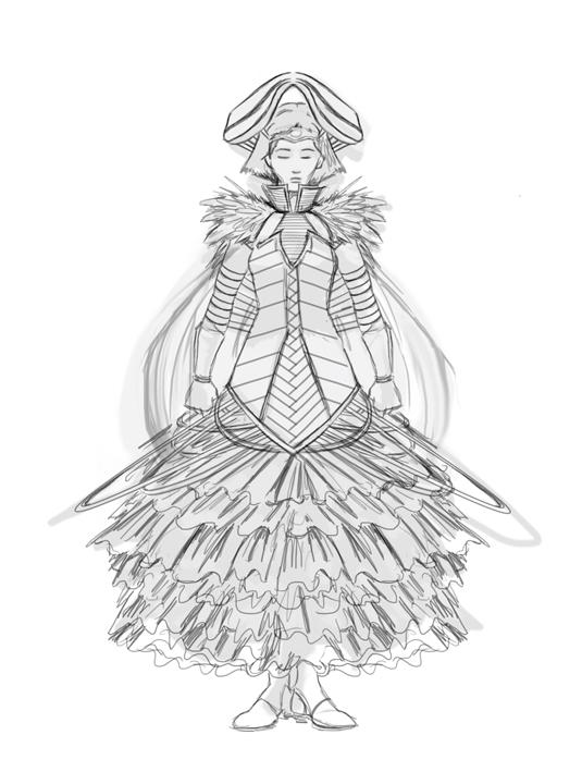 foti dress step 4