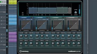 Cubase Pro 8 s Multiband Expander may help you to reintroduce some dynamic range
