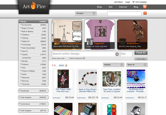 sell design work online