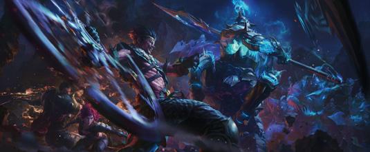 KD Stanton League of Legends Concept