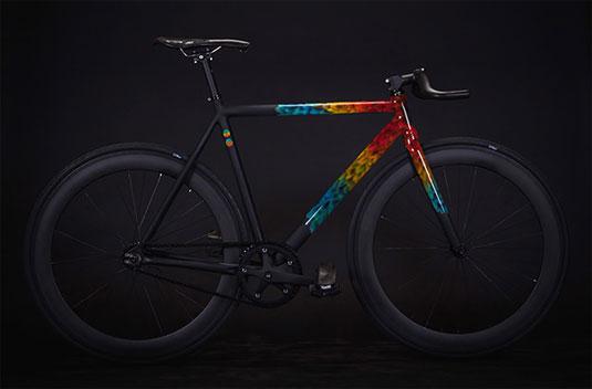 hand painted bike