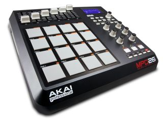 Akai MPD26 each of its pads can hold four different sounds
