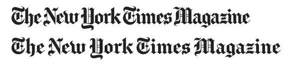 New York Times magazine logo