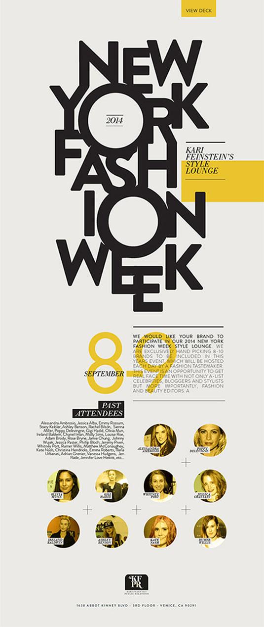 Flyer design: Karl Feinstein