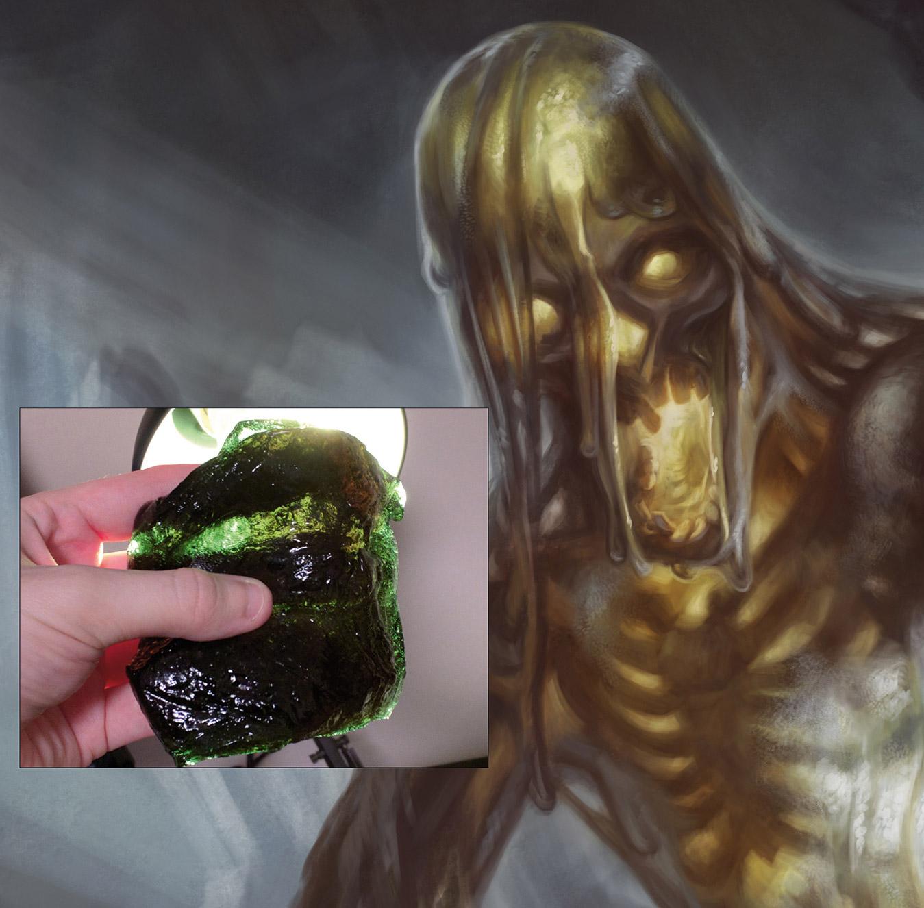 Slime character