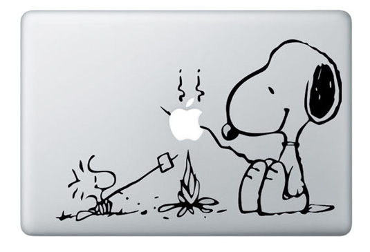 Mac decals - Peanuts